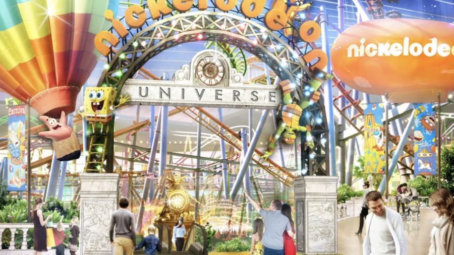 The new Nickelodeon Universe theme park opens this week, and it's a '90s kids paradise
