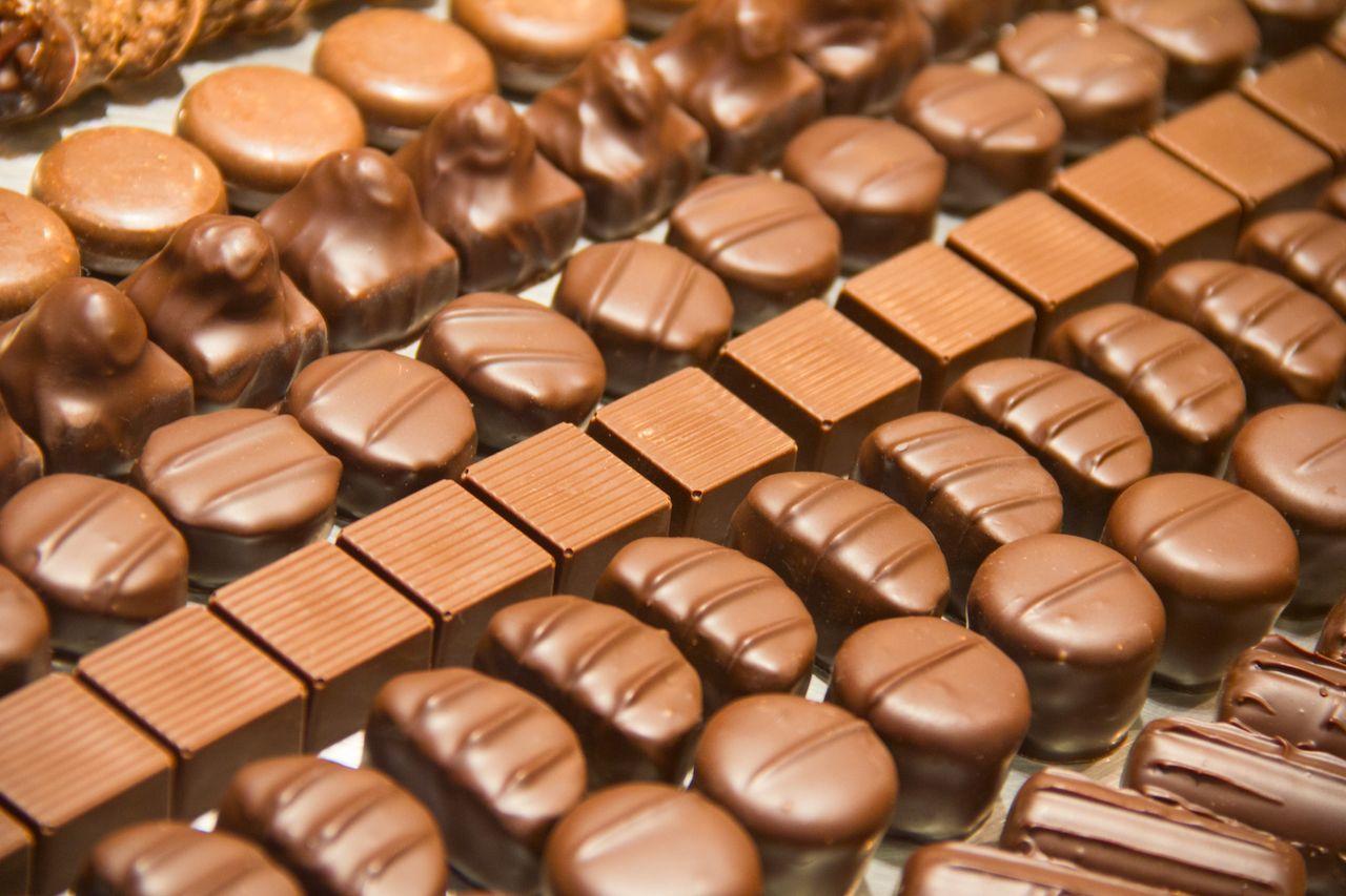 Swiss versus Belgian chocolate