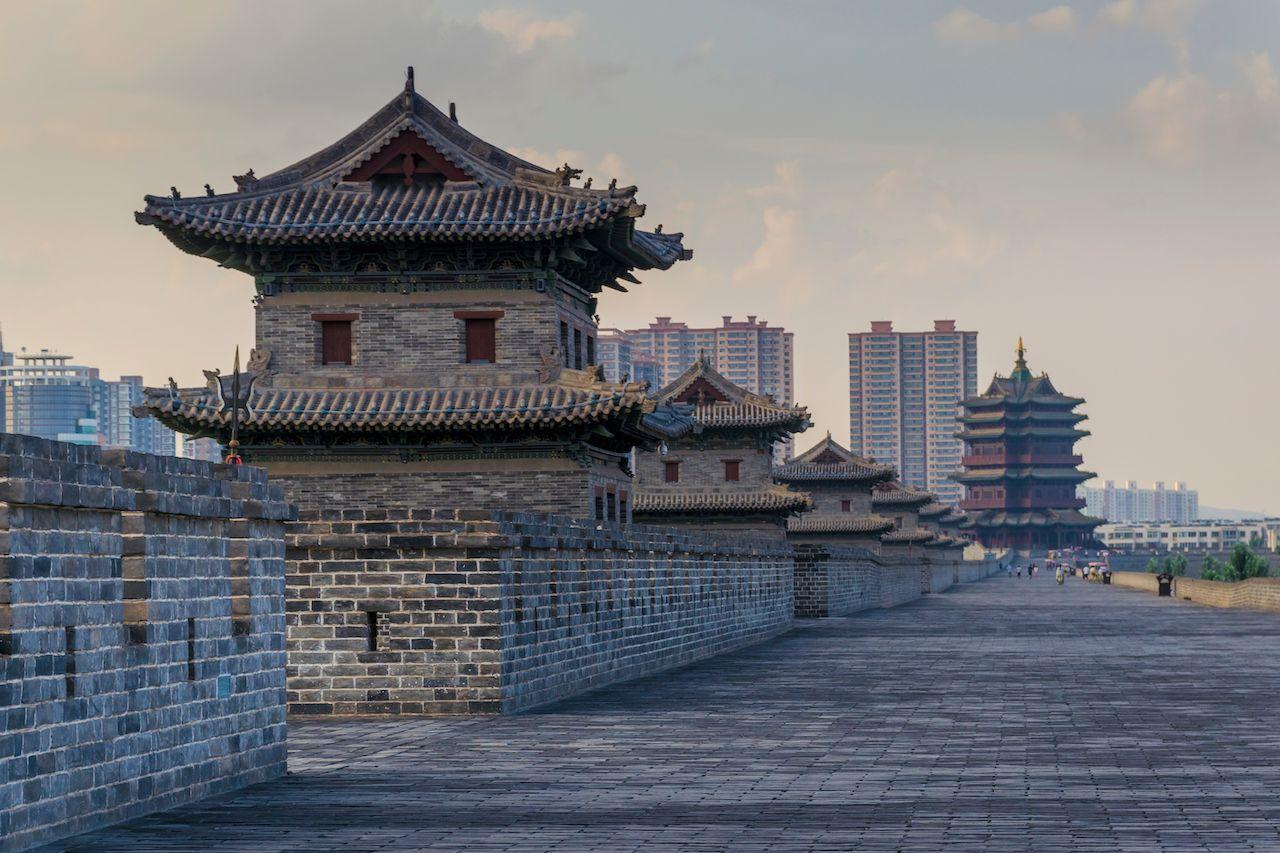 datong's ancient city walls