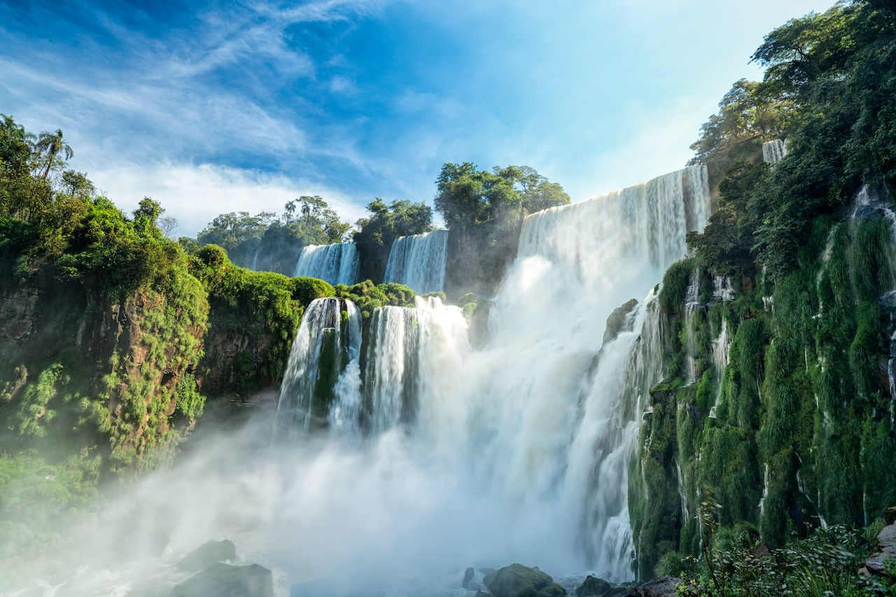 Iguazu falls, 7 wonder of the world in - Argentina instagrammed waterfalls