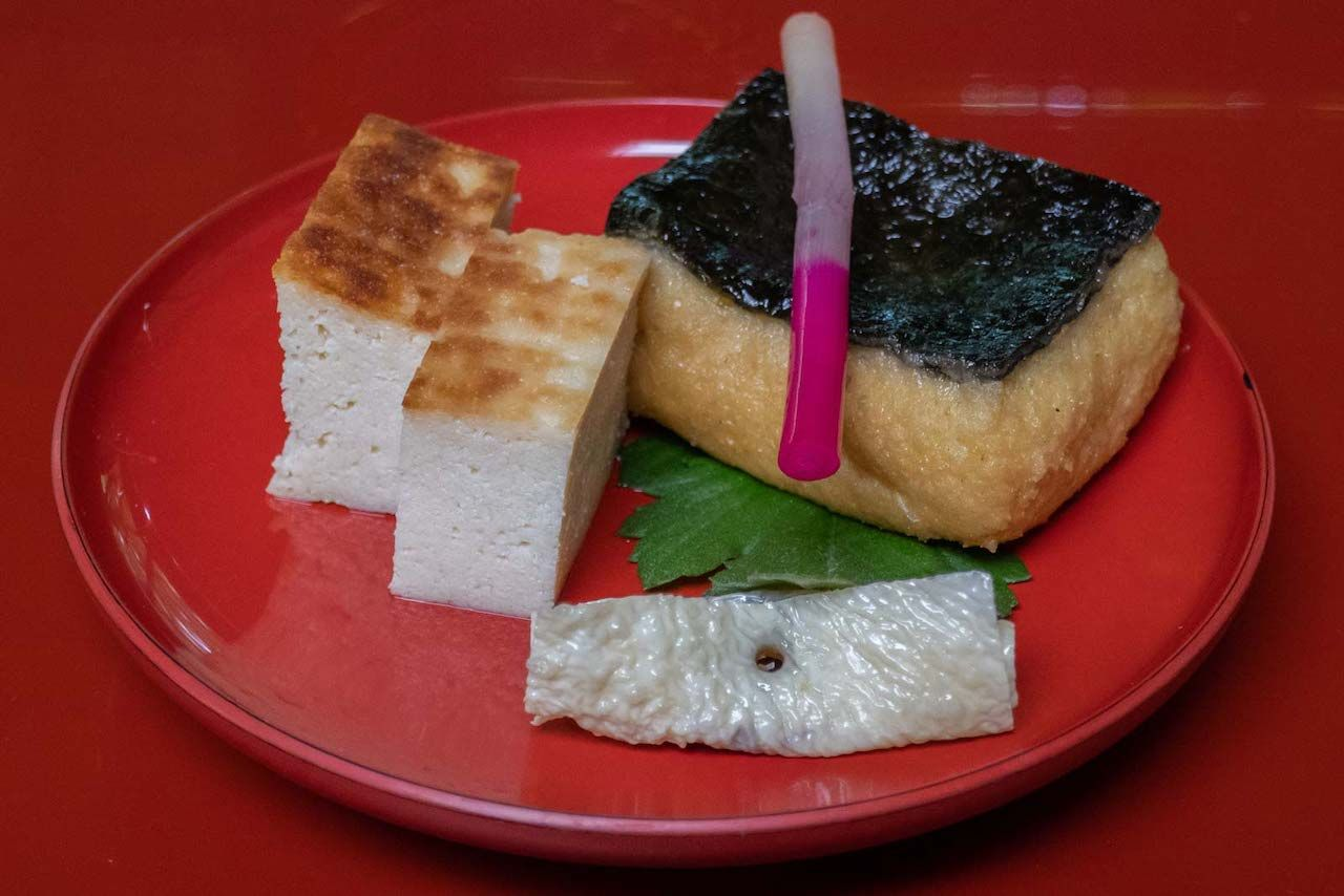 food from nikko, japan