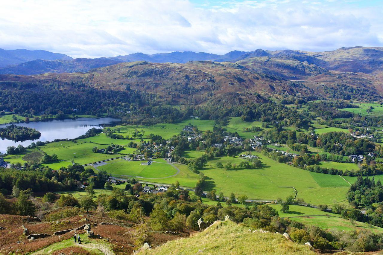 Lake District of England