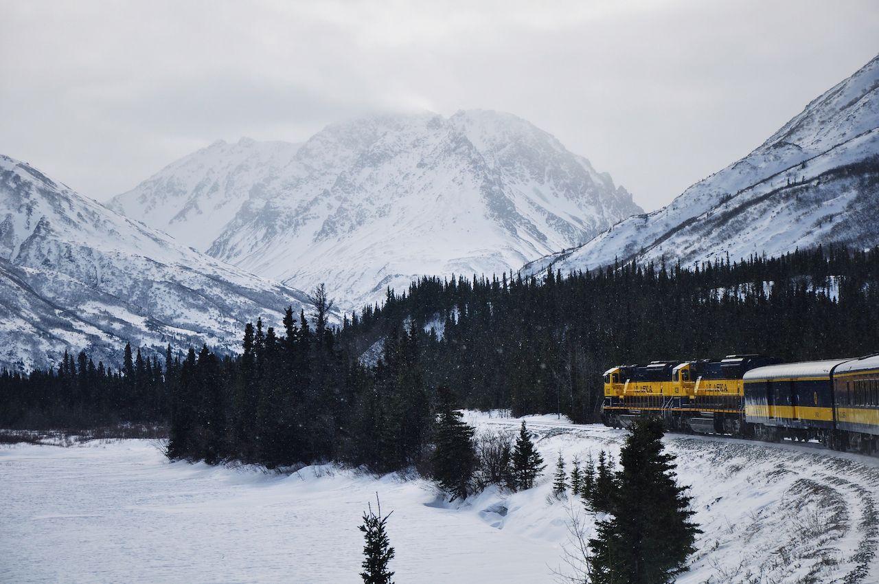 Alaska Railroad Aurora