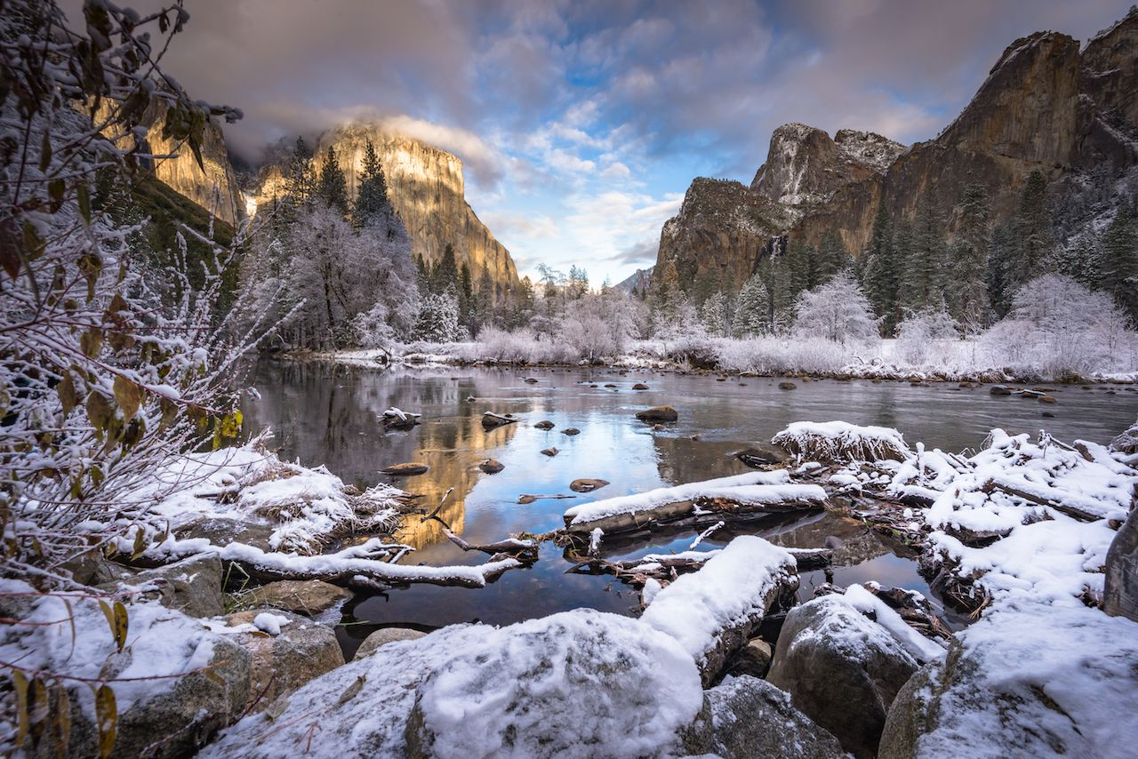Yellowstone & Yosemite Winter Magic