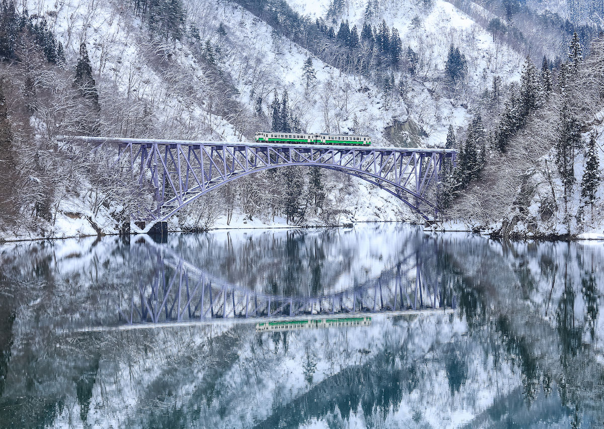 The dreamiest, winteriest train trips in the world