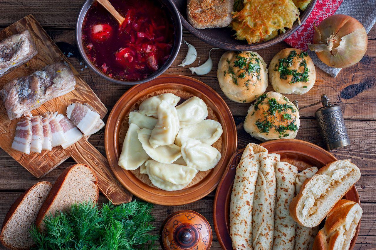 Pre-Soviet-era Ukranian dishes