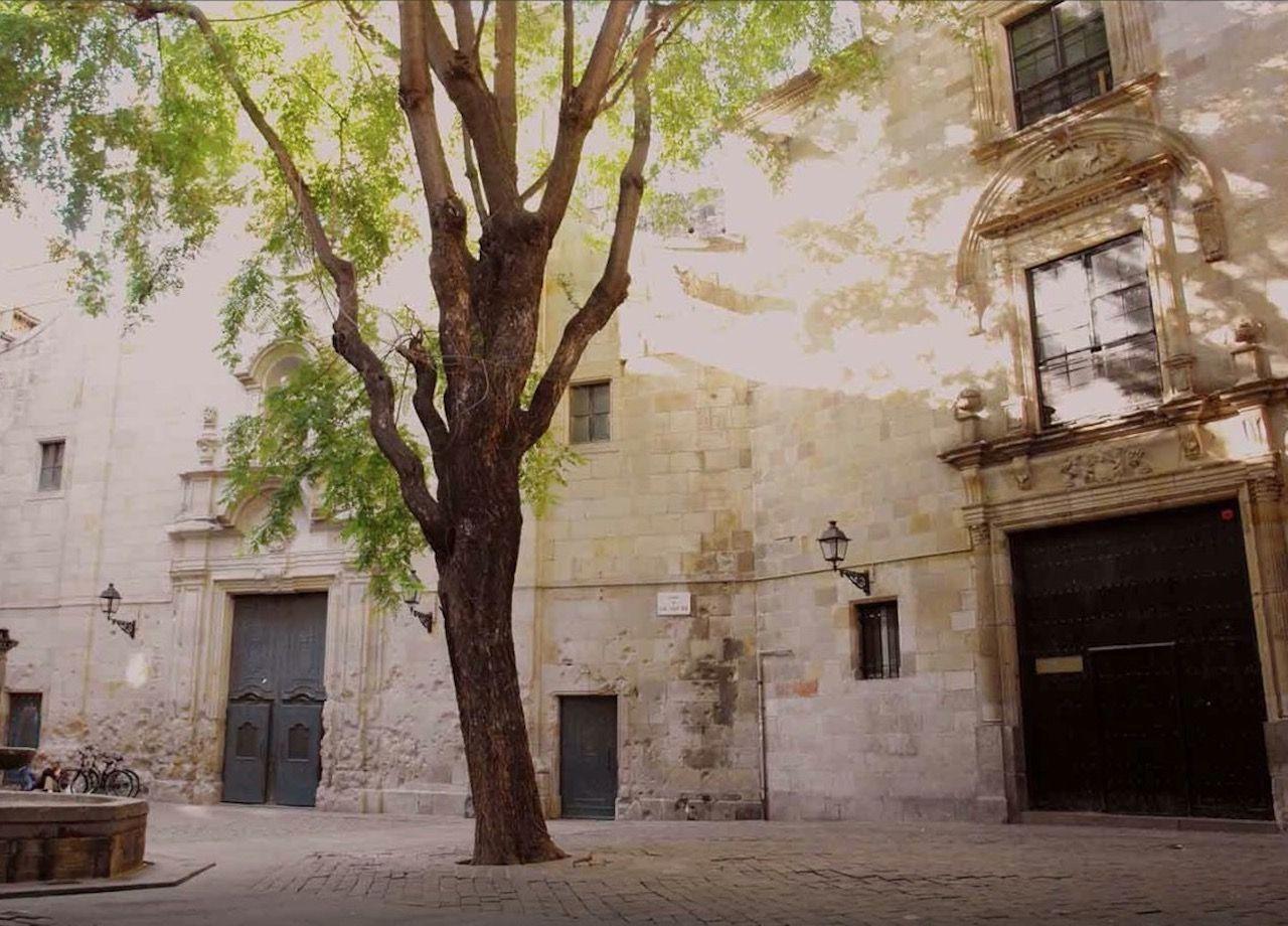 El Call Jewish quarter in Barcelona