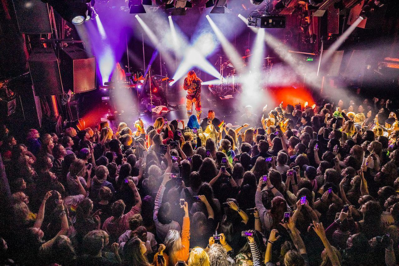 Hayley Kiyoko concert in Amsterdam