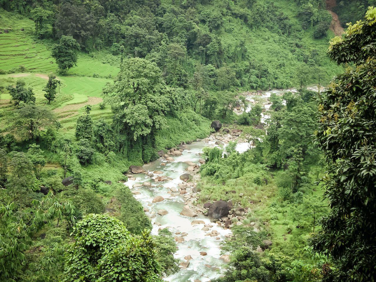 Main tributary of river Teesta