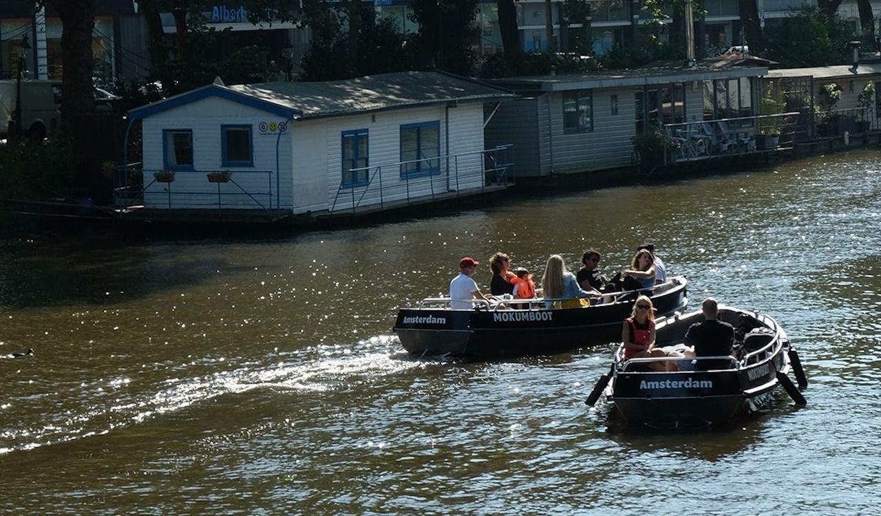 Mokumboot, Boat Rental Amsterdam
