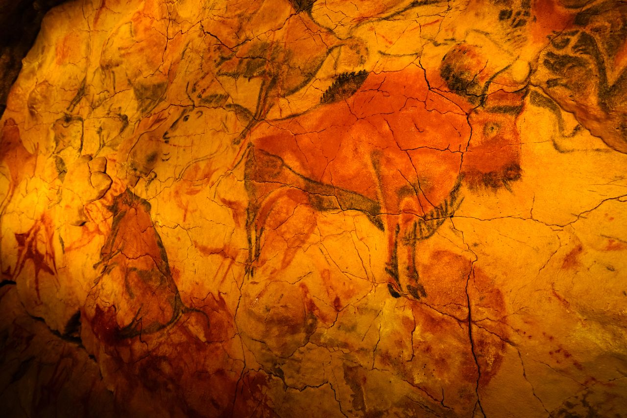National Museum and Research Center of Altamira is a museum with replica of the cave of Altamira with its prehistoric rock art