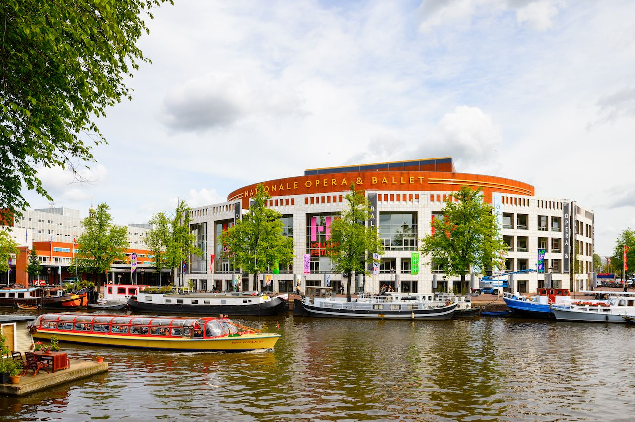 National opera and ballet theater of Amsterdam, Netherlands