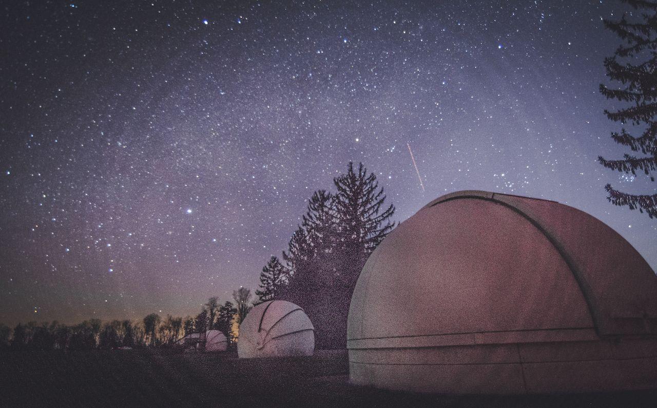 Night sky over Cherry Springs