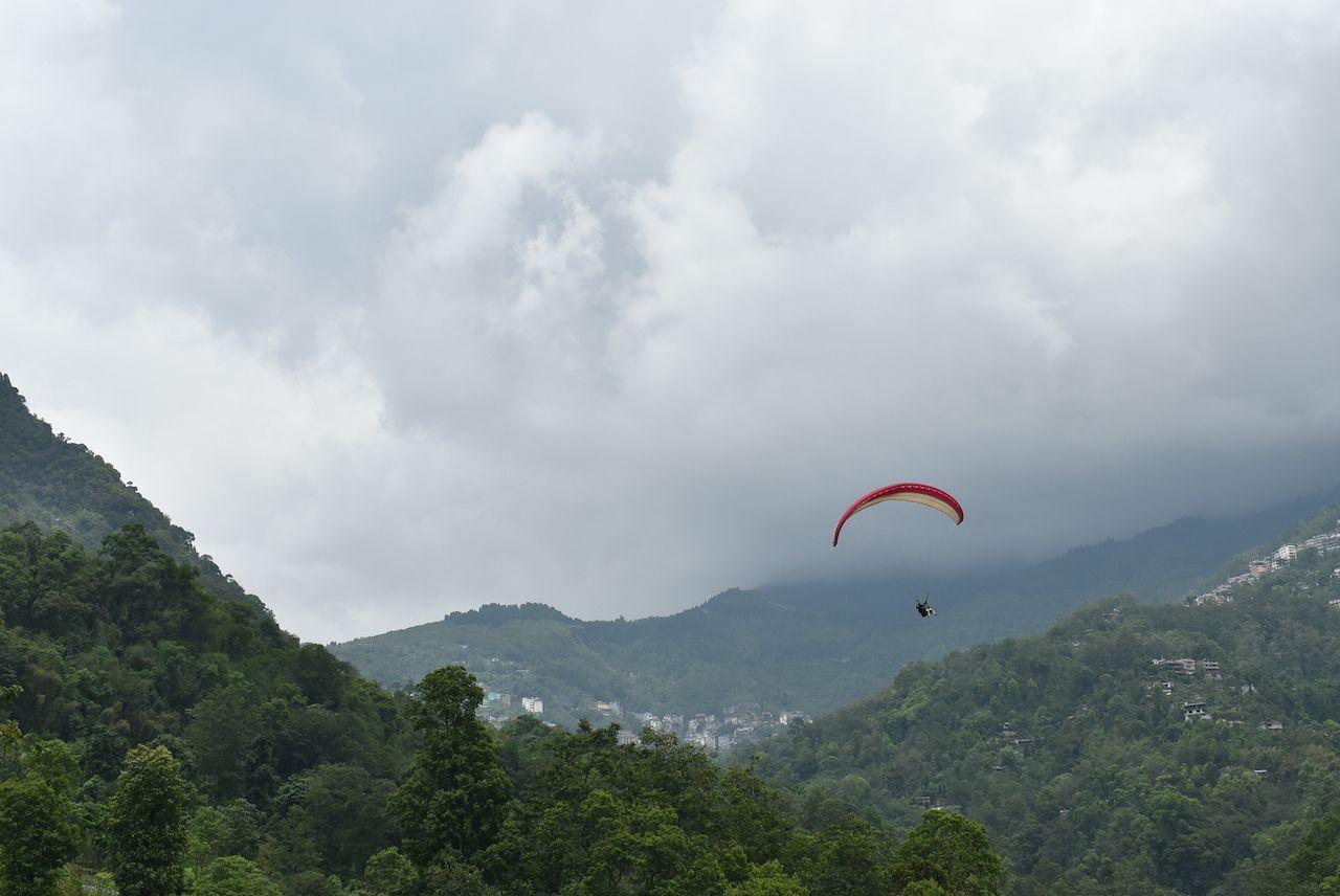Paragliding ,Gangtok