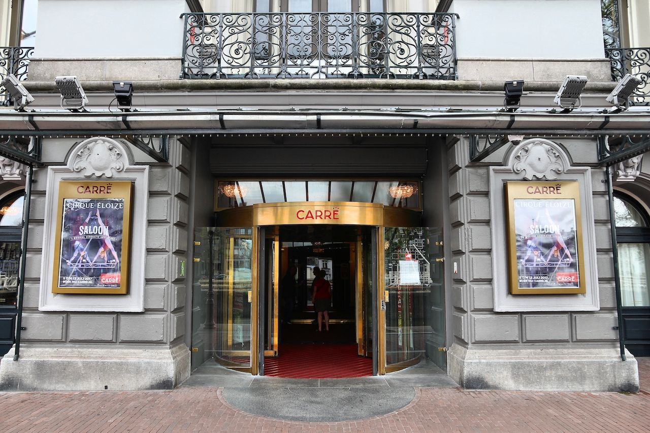 Royal Theatre Carre in Amsterdam