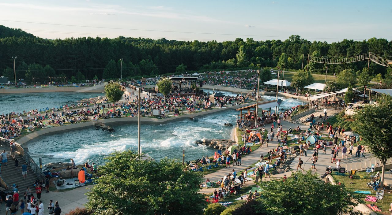 Fourth of July at US National Whitewater Center
