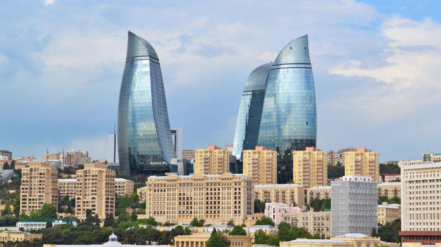 Baku, Azerbaijan, has the most cutting-edge architecture in the world