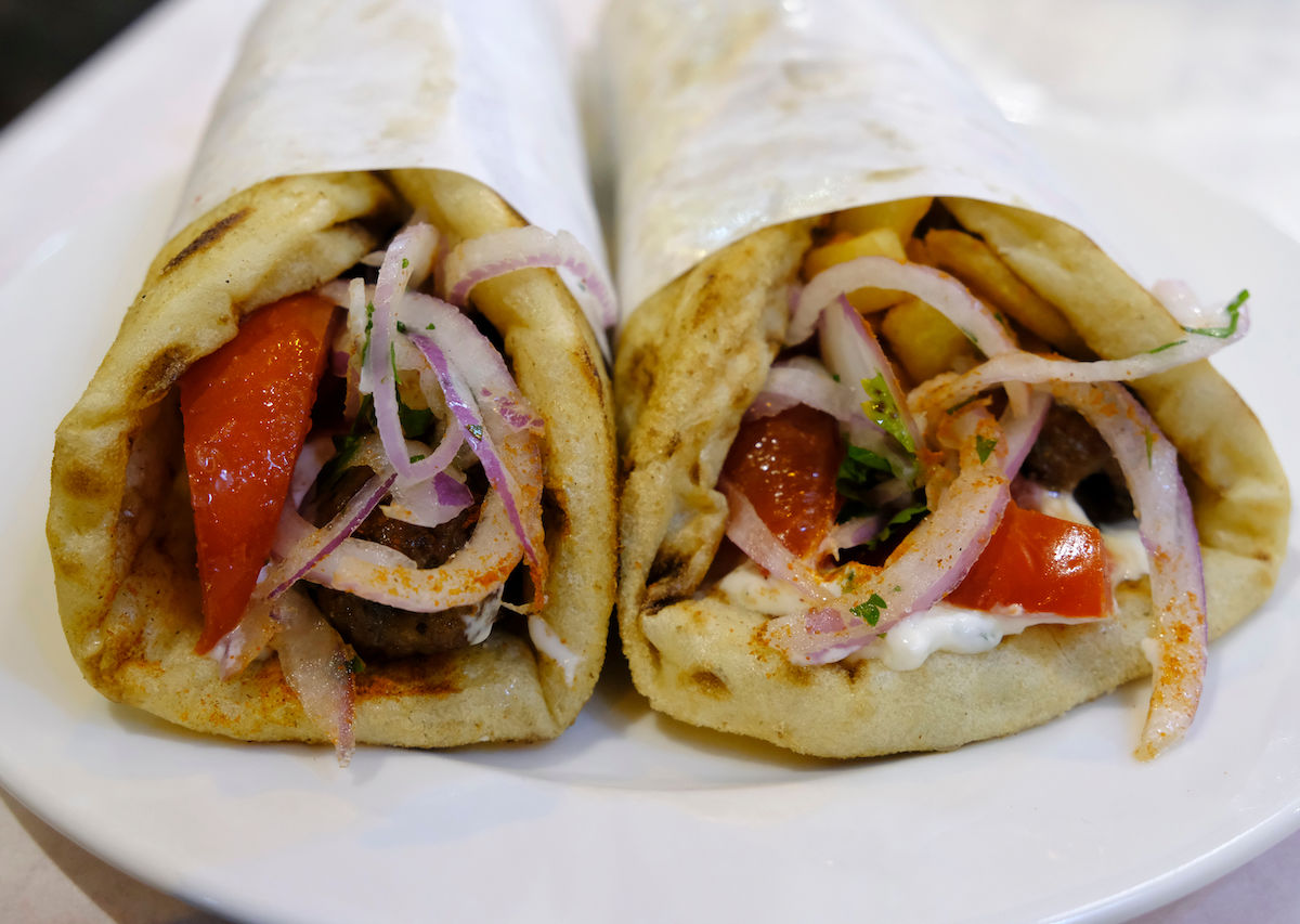 The best souvlaki in Athens