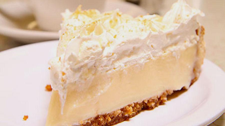 This lemon icebox pie is the most famous pie in Atlanta