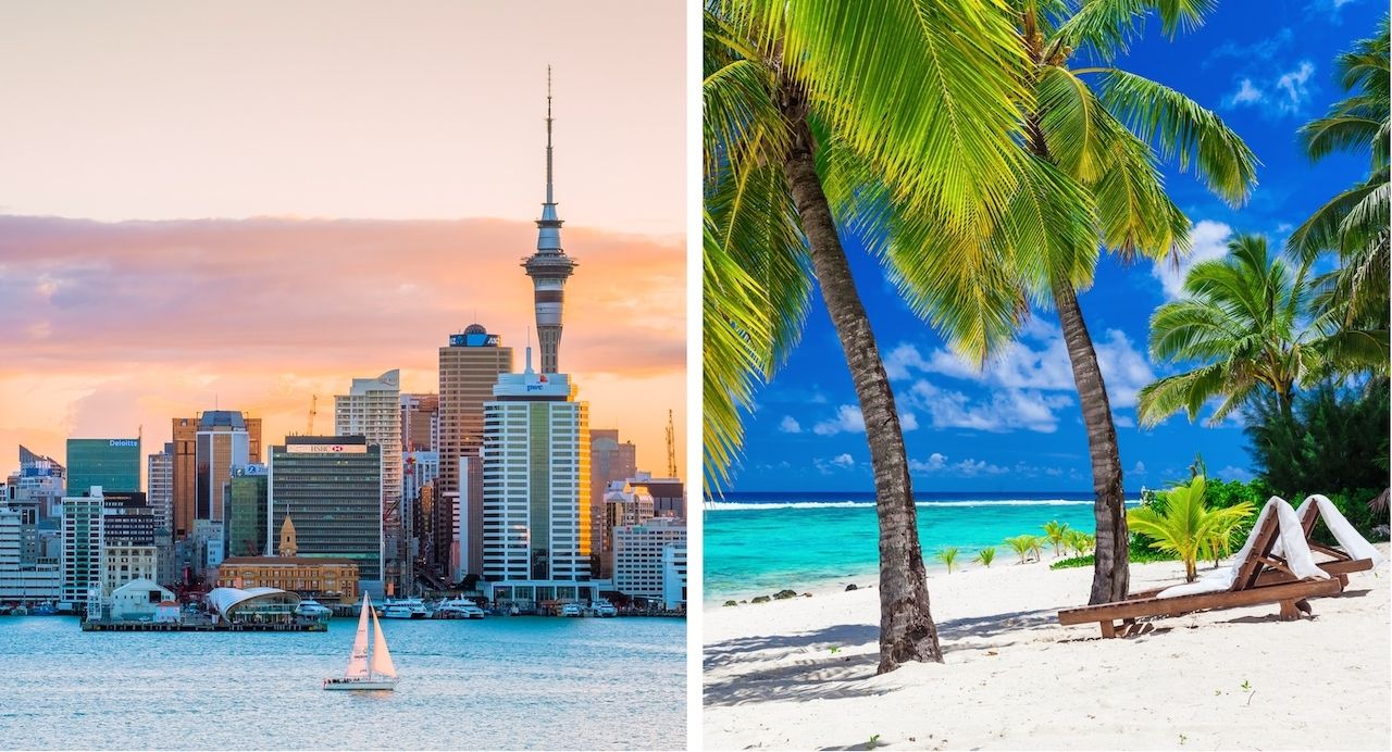 Auckland and Cook Islands