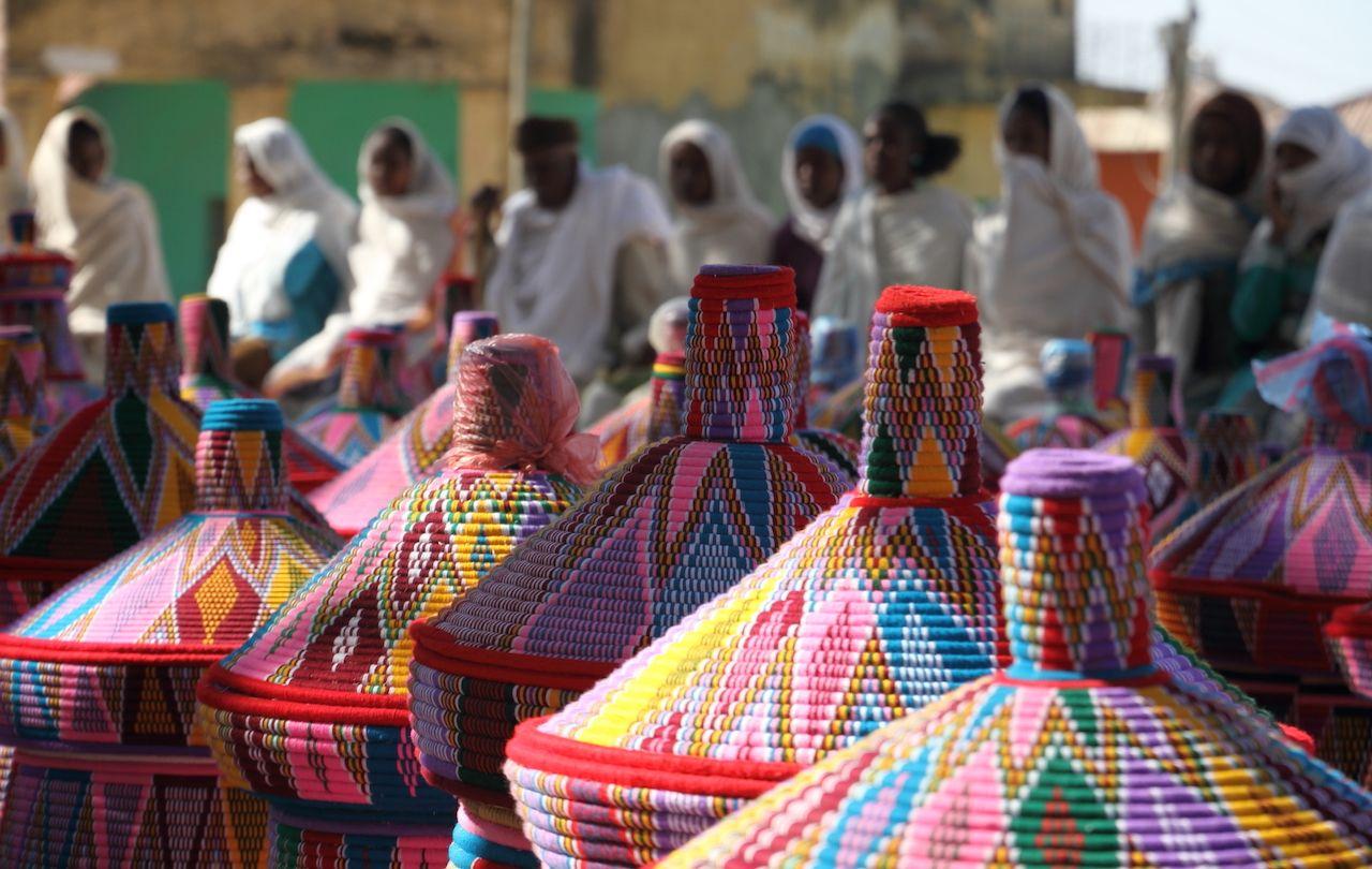 Baskets, Ethiopia