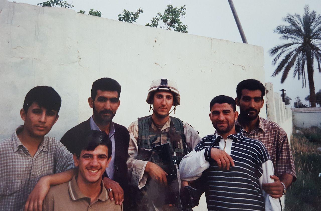 Brandon Friedman in Iraq
