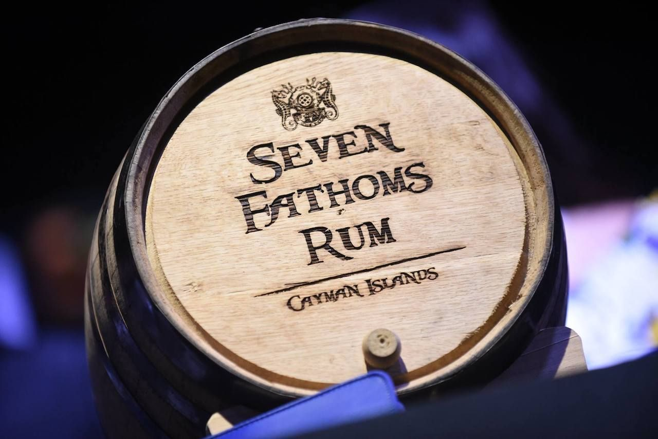 Cayman Spirits Company barrel of rum