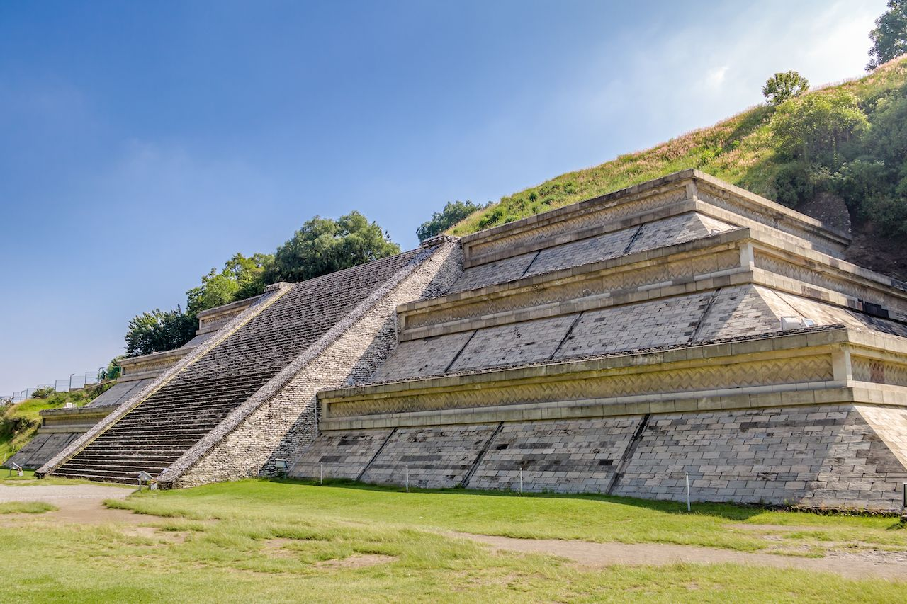 Cholula Pyramid archaeological site