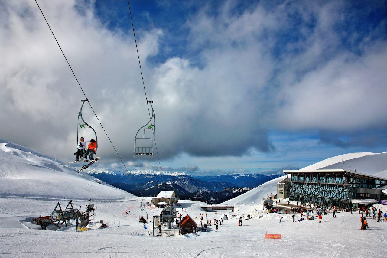 Kellaria ski center, Mt. Parnassus