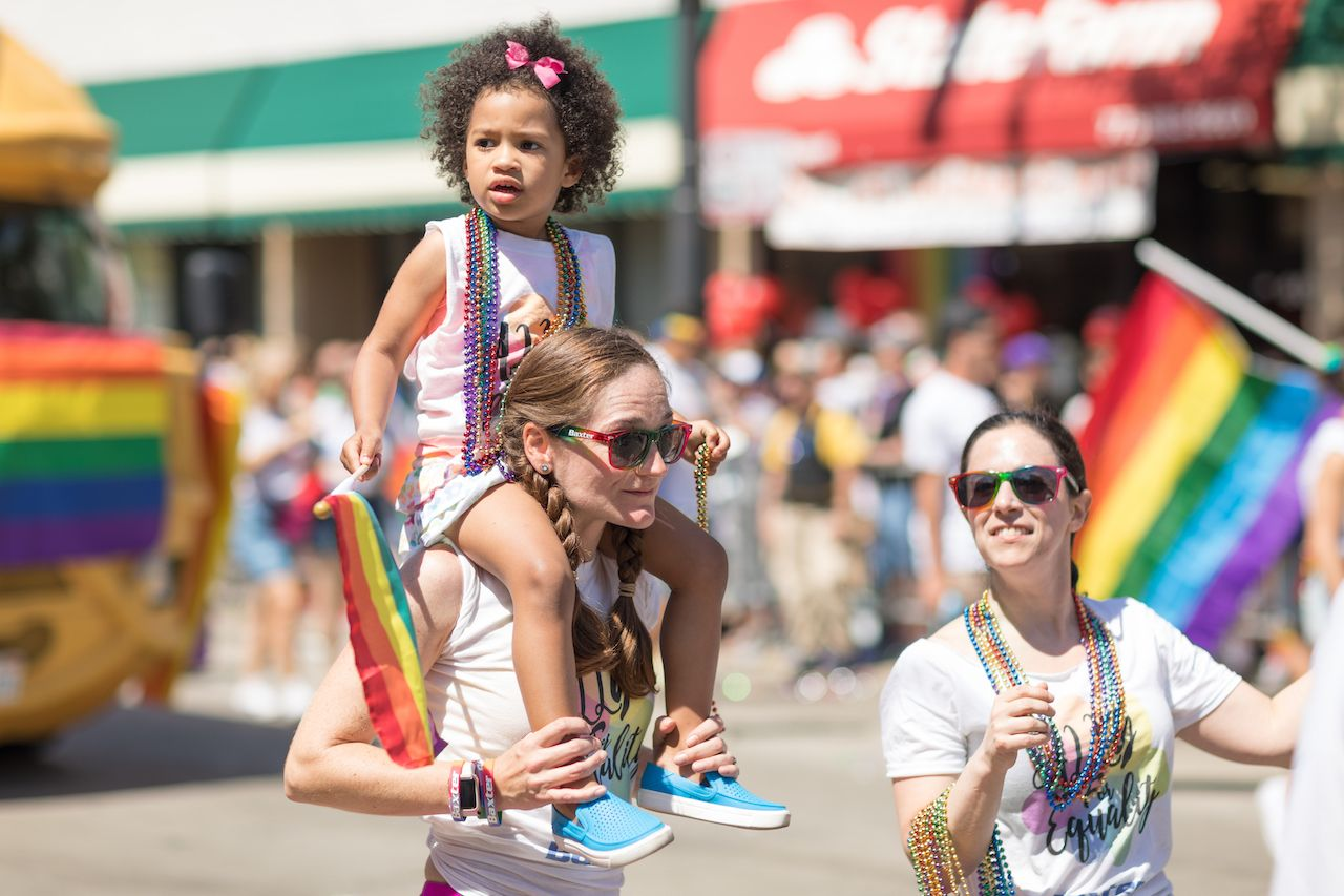 LGBTQ Pride Parade in Chicago