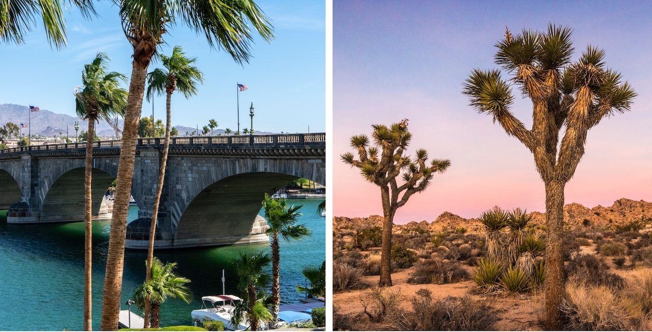 Lake Havasu City and Mojave National Preserve