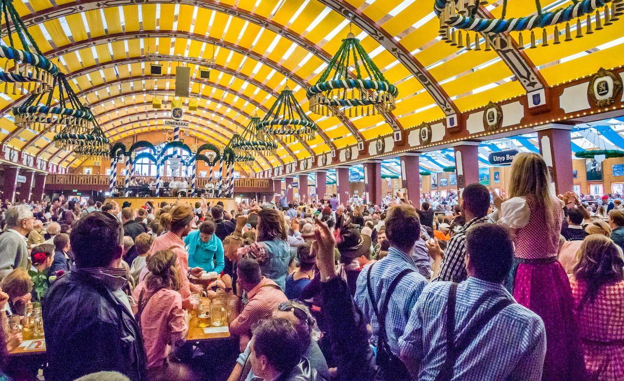 Loewenbraeu Oktoberfest tent