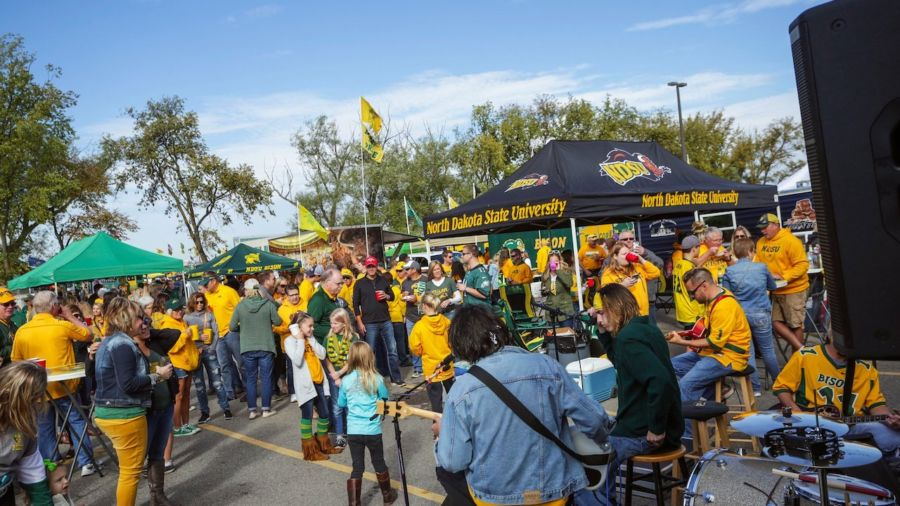 At North Dakota State University, tailgating is an education in the culture of the North