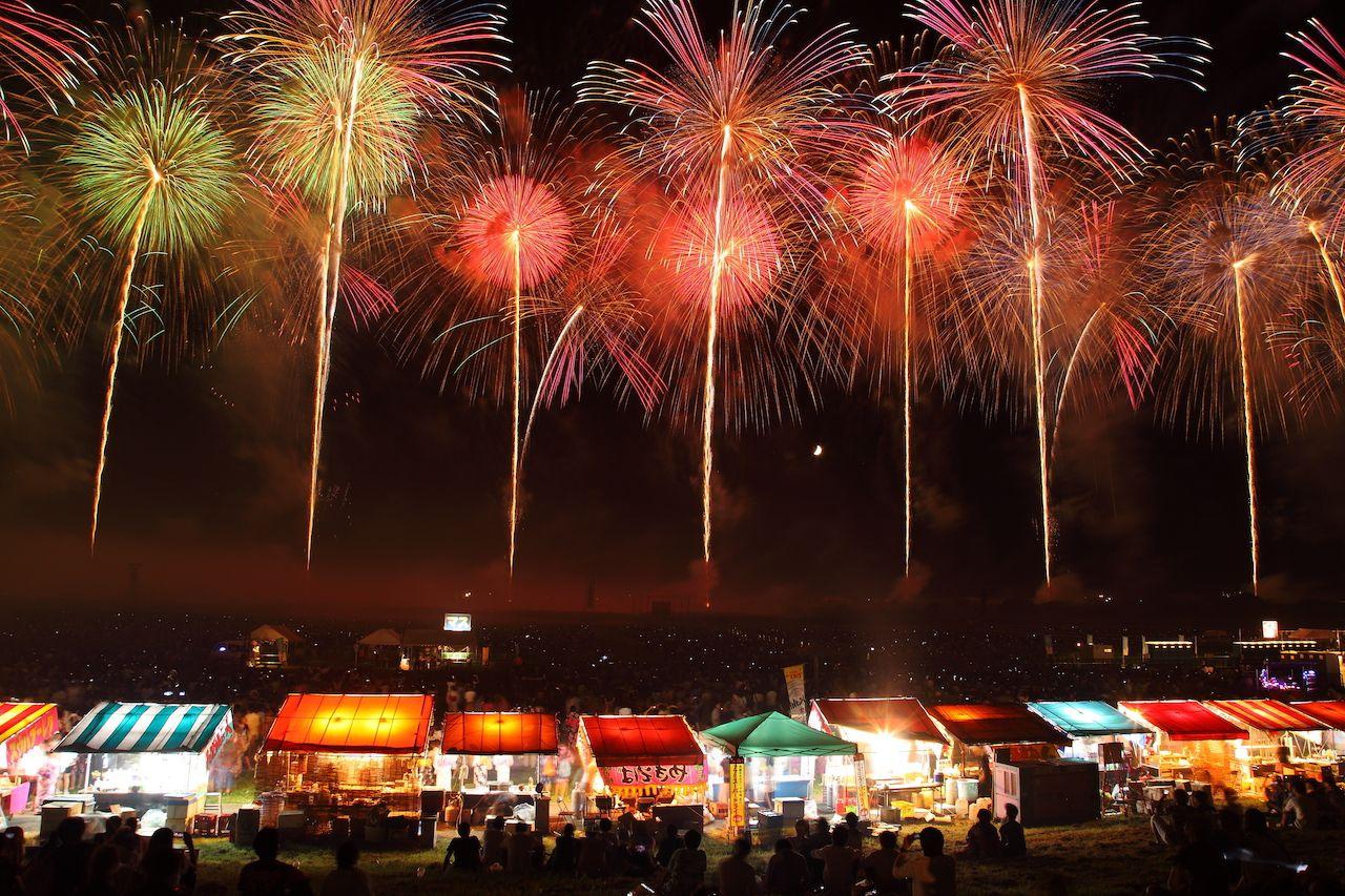 Sakata Fireworks Show, Japan