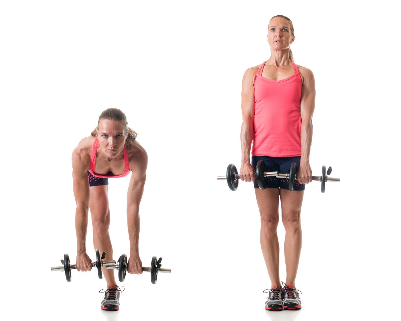 Single-leg deadlift exercise