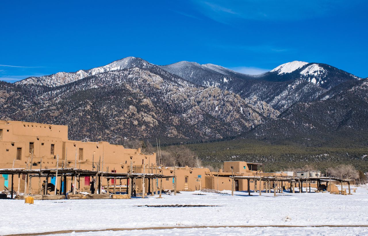 New Mexico is the best place in the US for a winter road trip