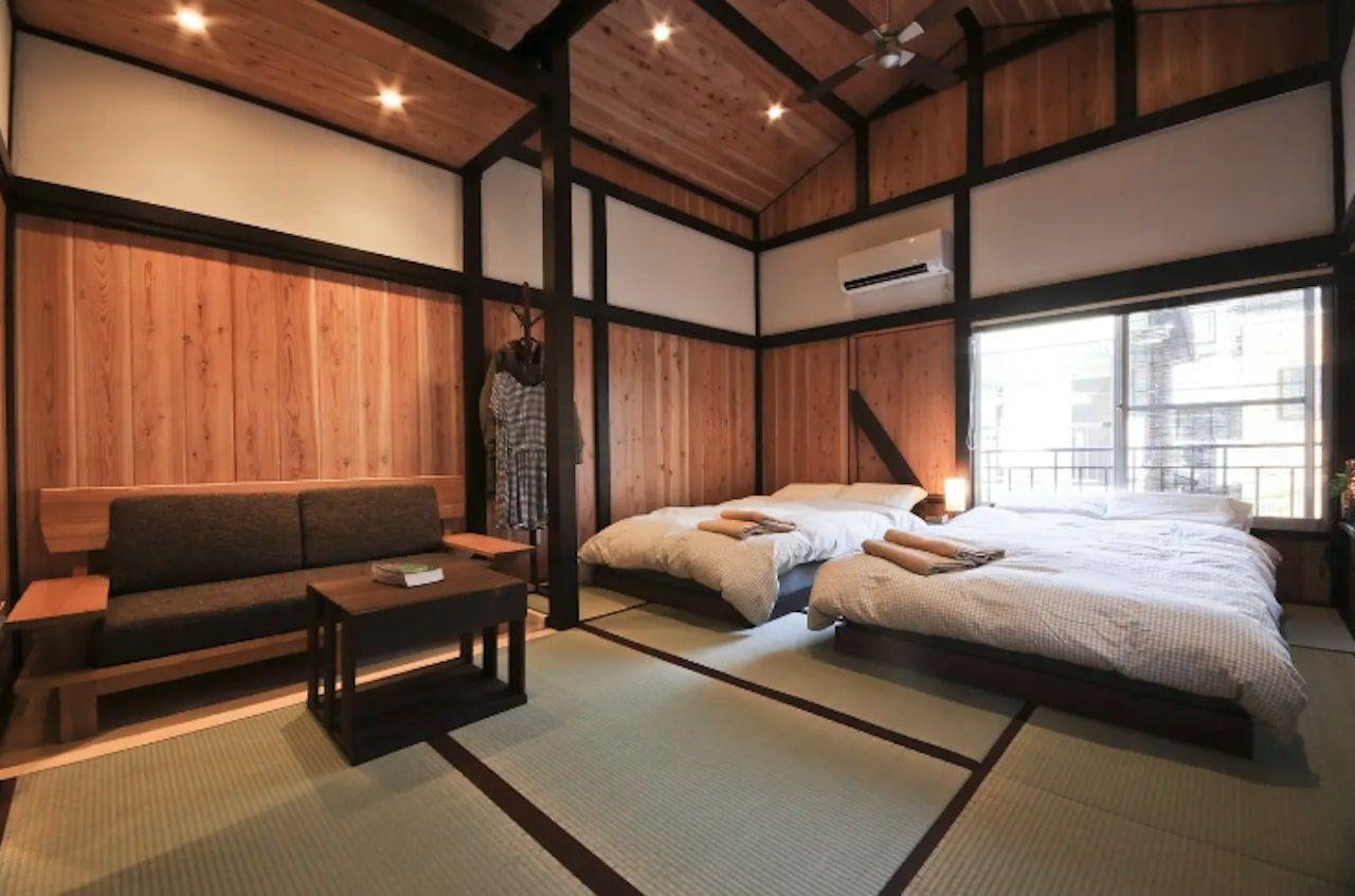 Three bedroom Bamboo Lodge, Tokyo