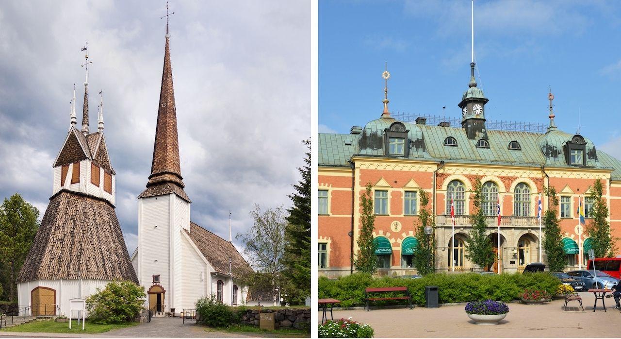 Tornio Finland and Harapanda Sweden
