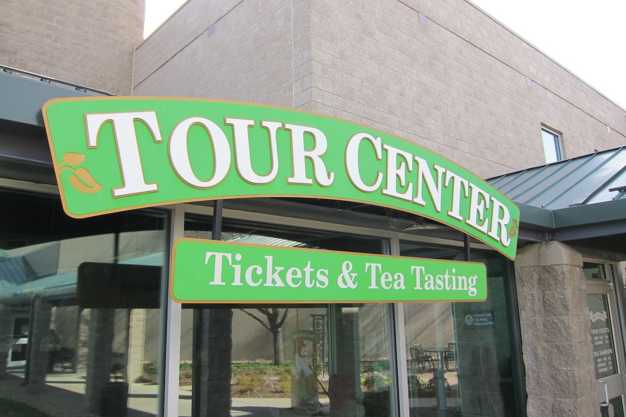 Tour building celestial seasonings
