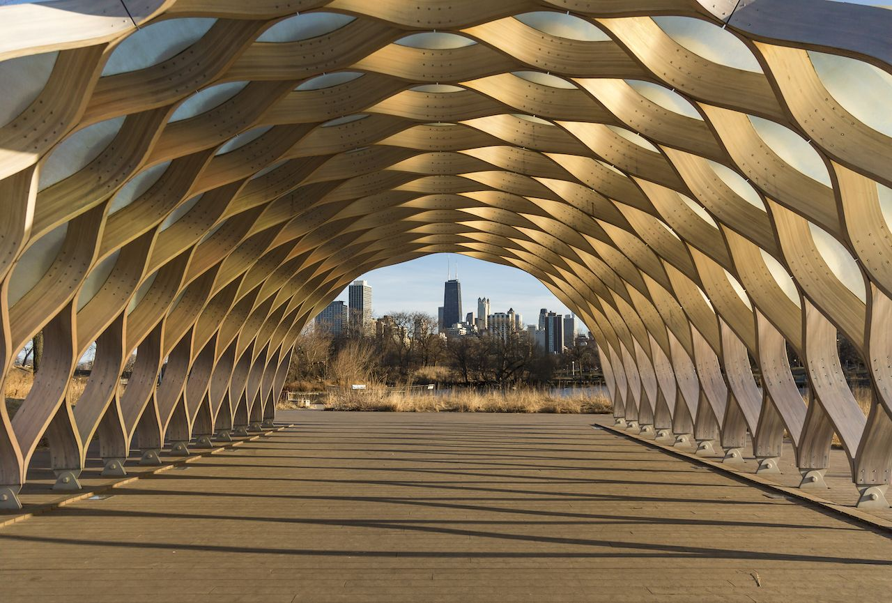 Wood Pavilion at Chicago's Lincoln Park