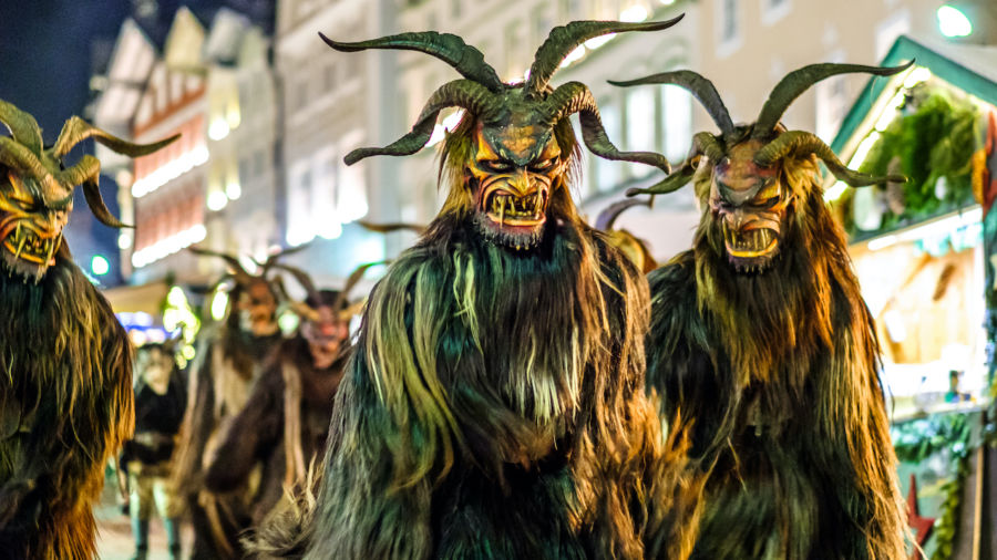 The 7 creepiest Christmas characters from European folklore