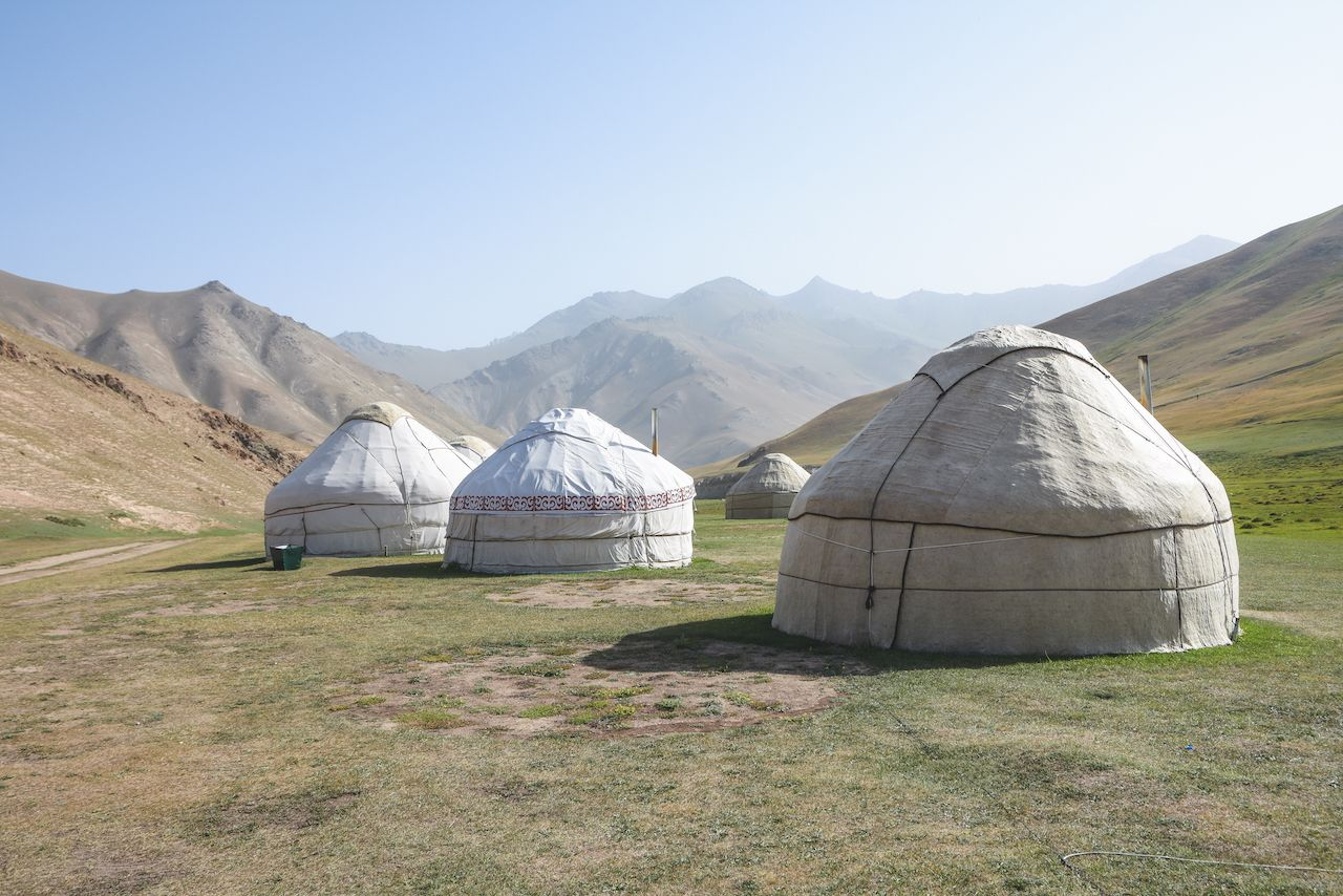 What are yurts, how to stay in one