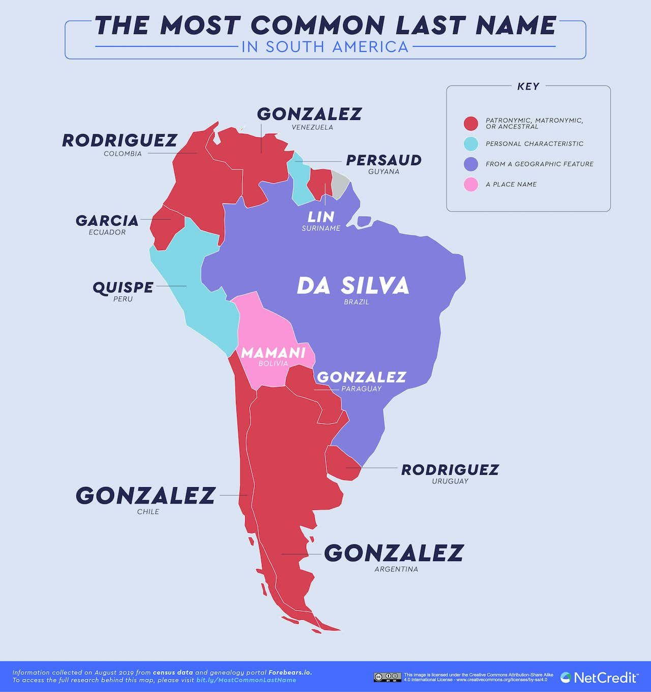 06_The-most-common-last-name-in-every-country_SouthAmerica