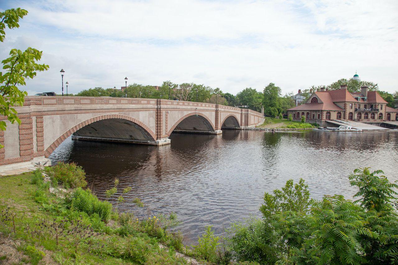 Anderson Memorial Bridge and Charles River