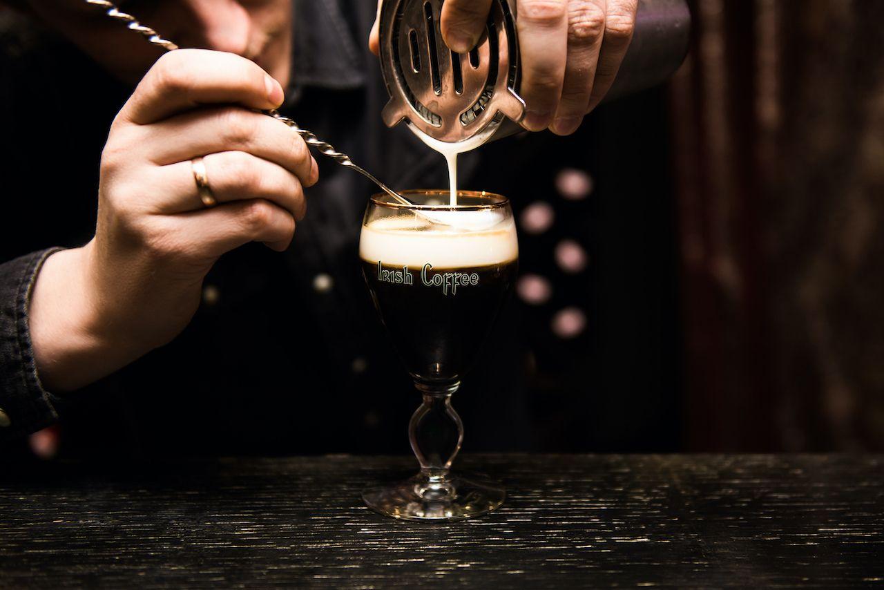 History of Irish Coffees