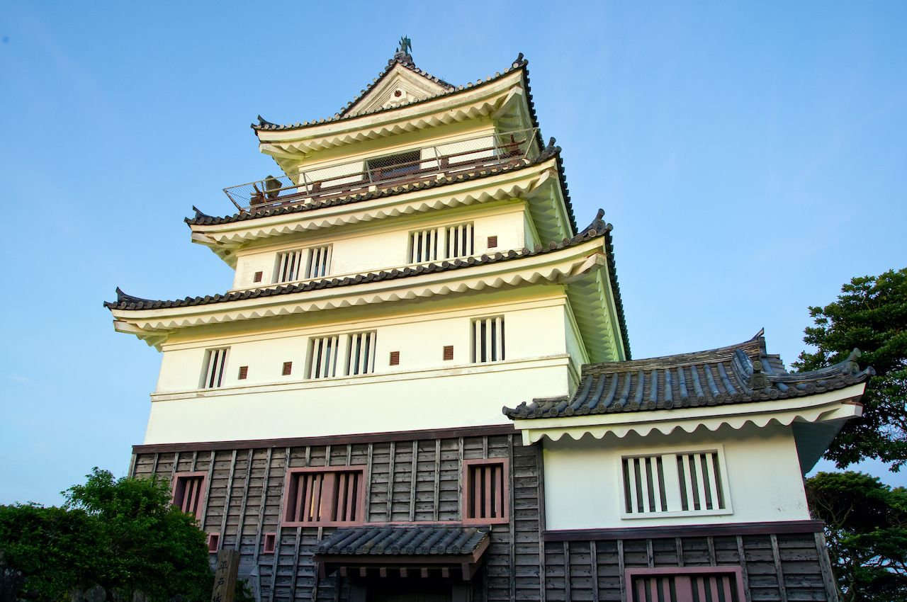 Spend the night in a castle in Japan