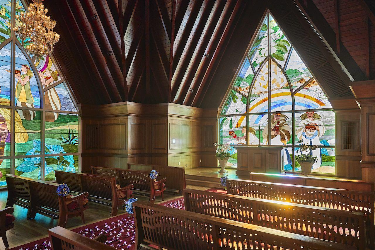 Chapel interior 1 (Credit Scott Hughes)