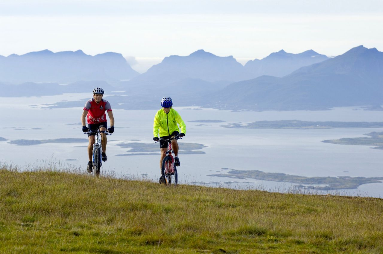 Cycling Northern Norway