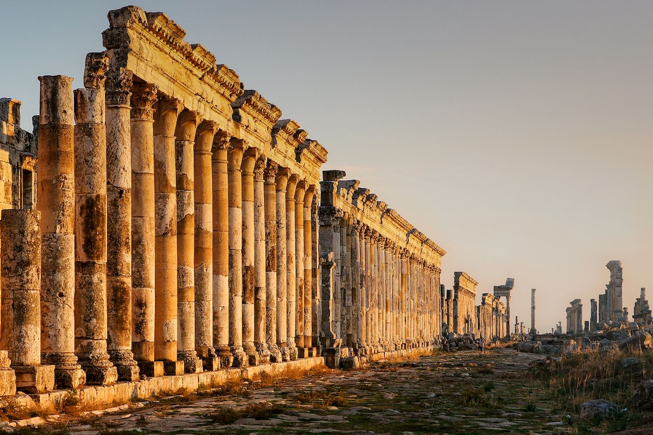 Great Colonnade at Apamea