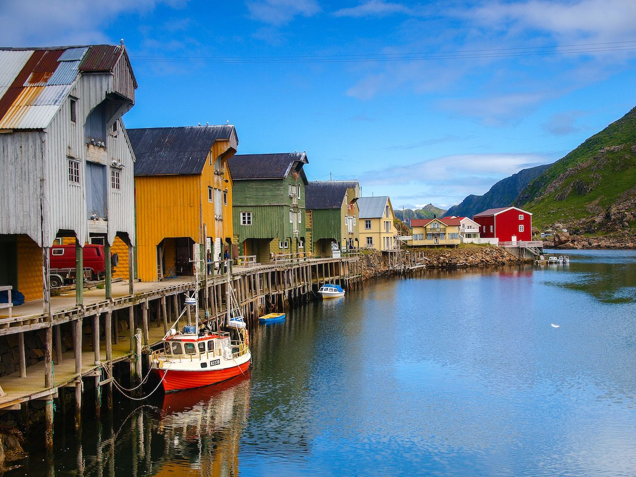 Harbor in Norway